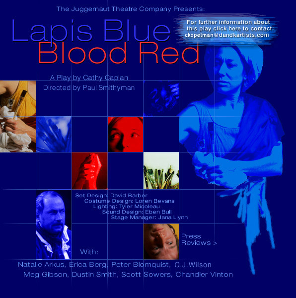 lapis blue blood red