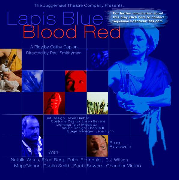 lapis blue blood red